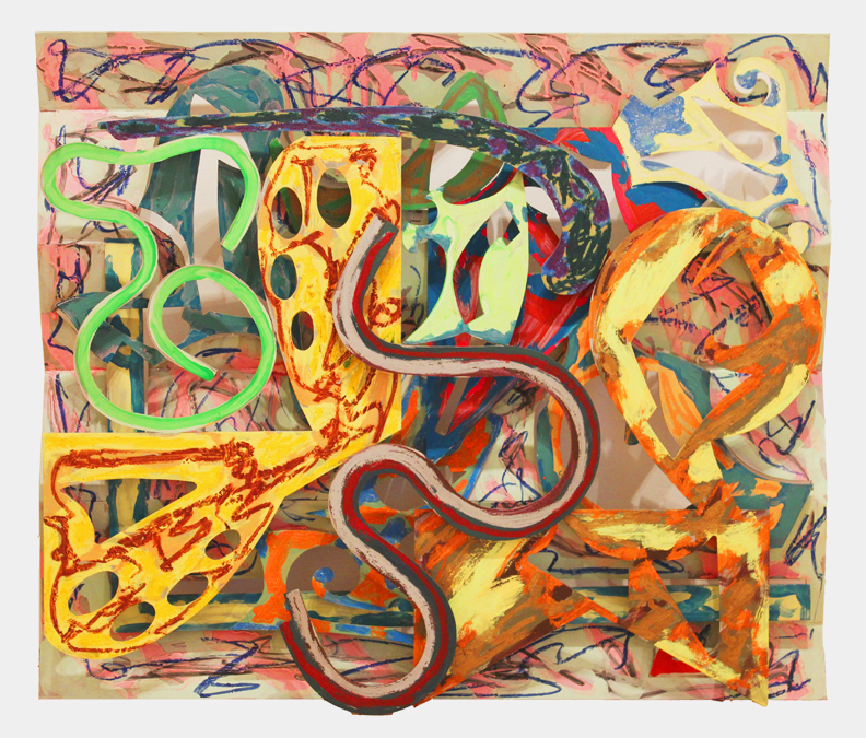 Frank Stella | Talladega, 1980-81, Courtesy of Leslie Feely Gallery