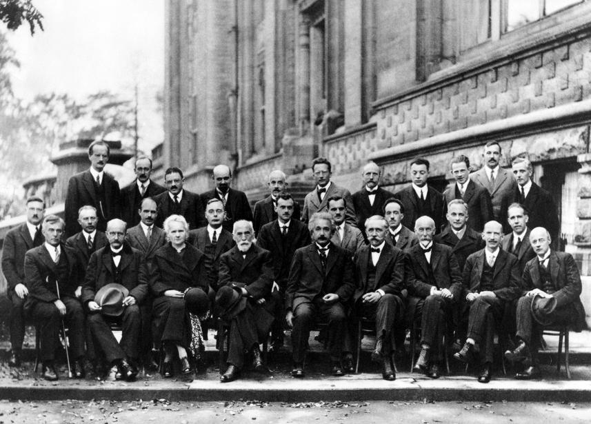Solvay - rivoluzione quantistica