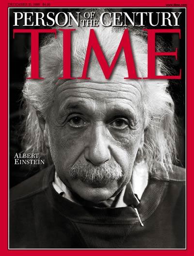 copertina Time mito di Einstein