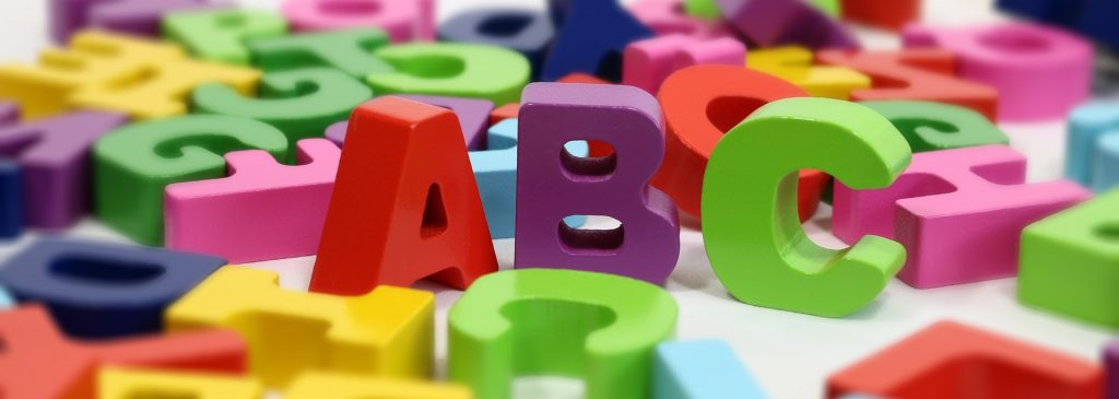 lettere alfabeto evalosapeva